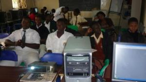 Seroma Christian High School Writers Club Members