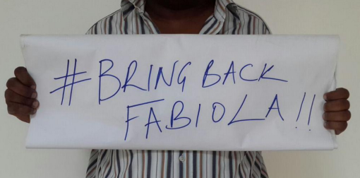 Meanwhile, some folks are demanding NTV to #BringBackFabioula on Twitter.  Photo by Muhereza Kyamutetera ‏(@MKyamutetera)